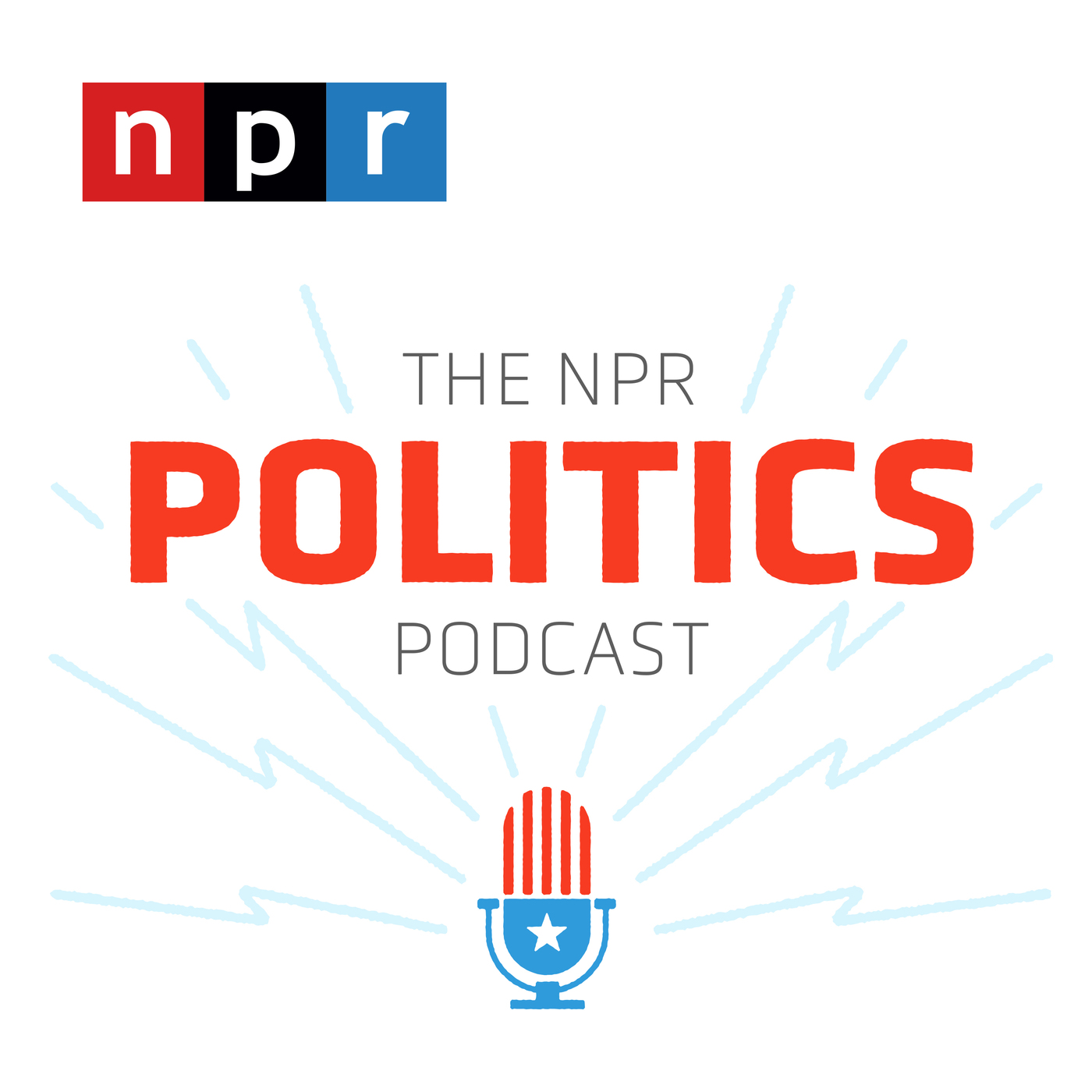 The NPR Politics Podcast logo