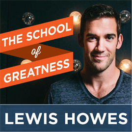 The School of Greatness motivational podcast logo