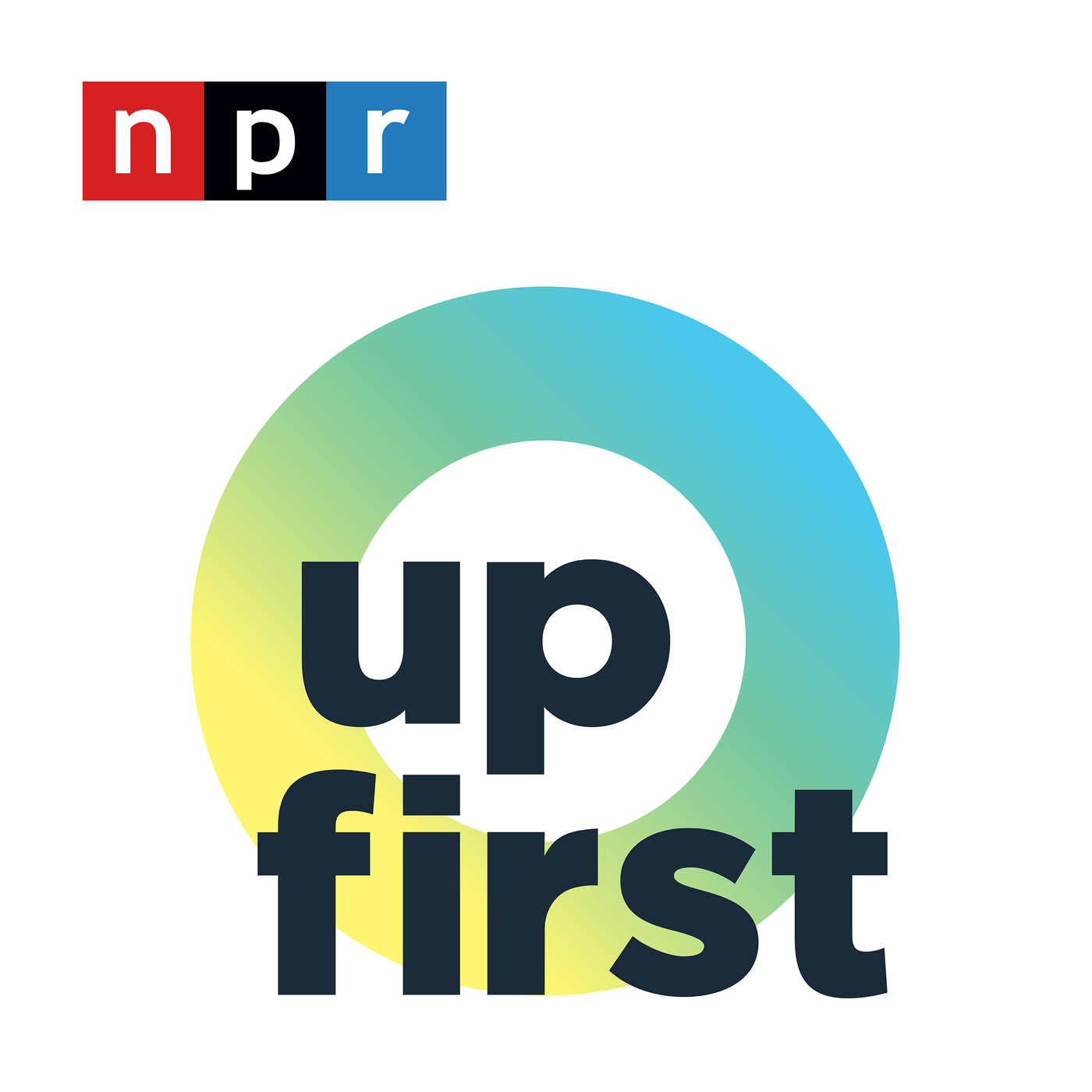 Up First podcast logo, best NPR podcasts