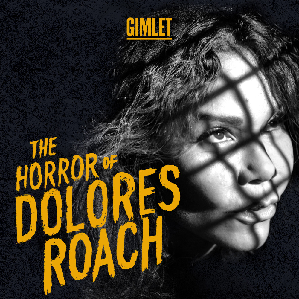 The Horror of Dolores Roach podcast logo
