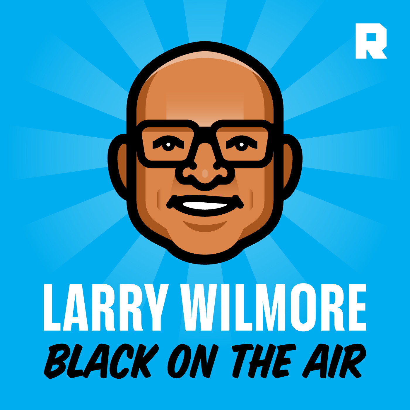 Larry Wilmore: Black on the Air podcast logo from The Ringer