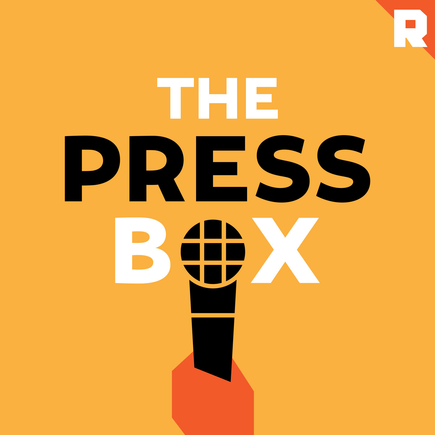 The Press Box podcast logo from The Ringer