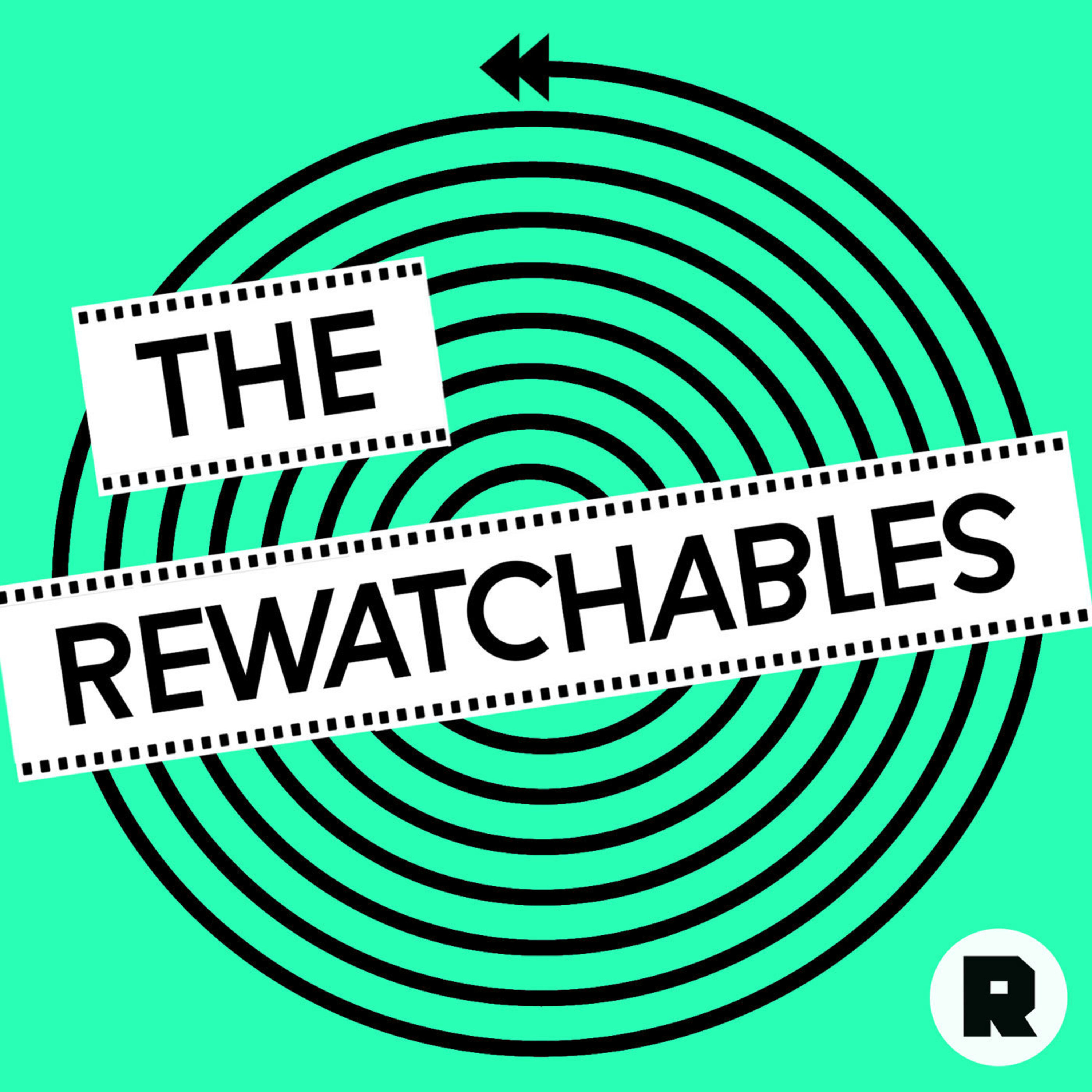 The Rewatchables from the Ringer podcast logo