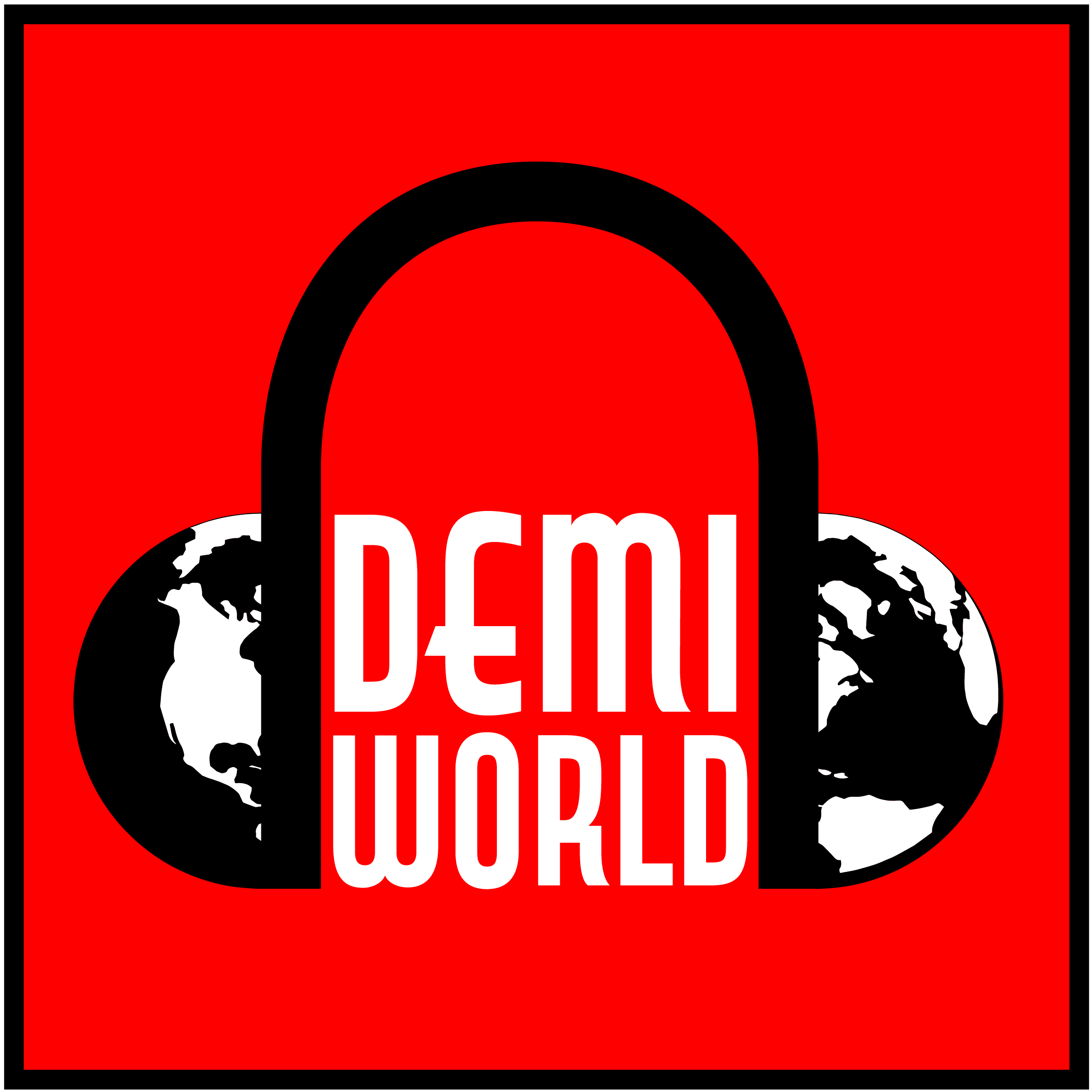 Demiworld podcast logo