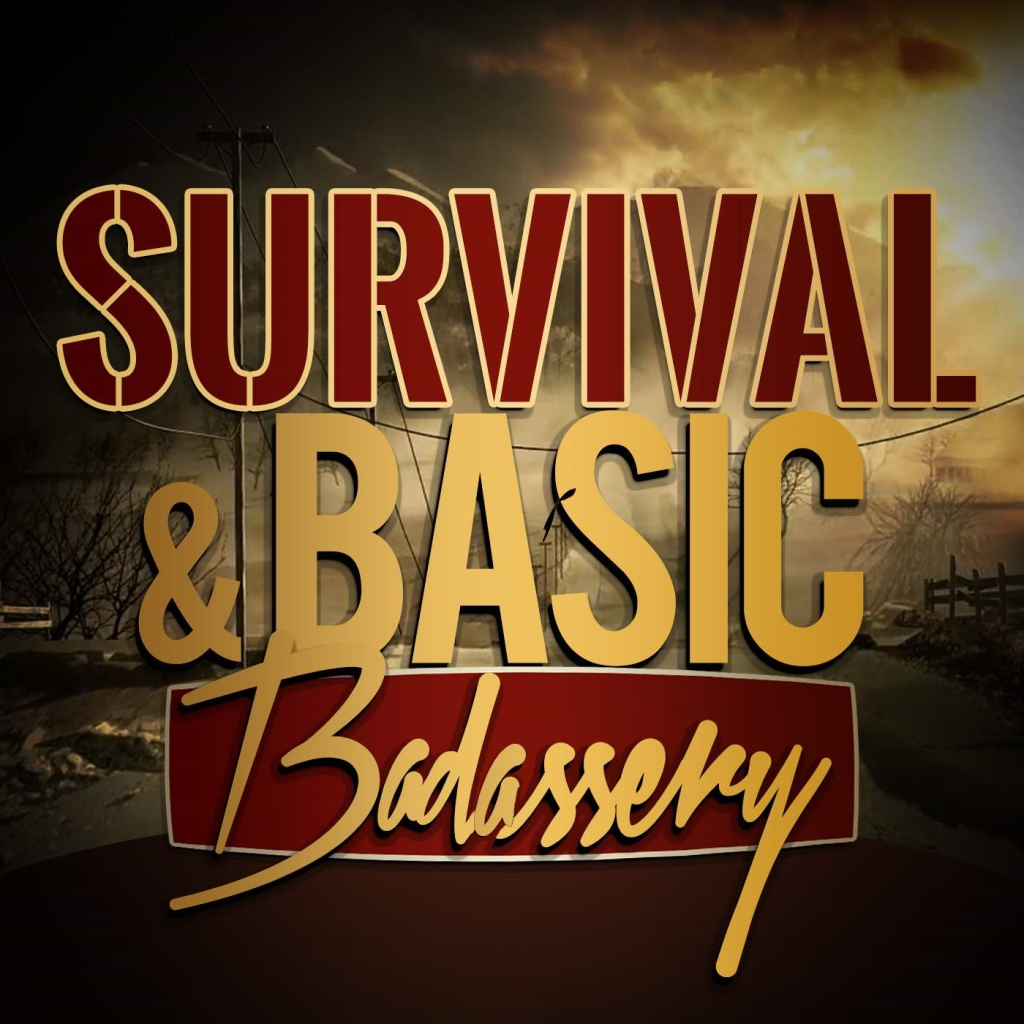 Survival and Basic Badass survival Podcasts logo