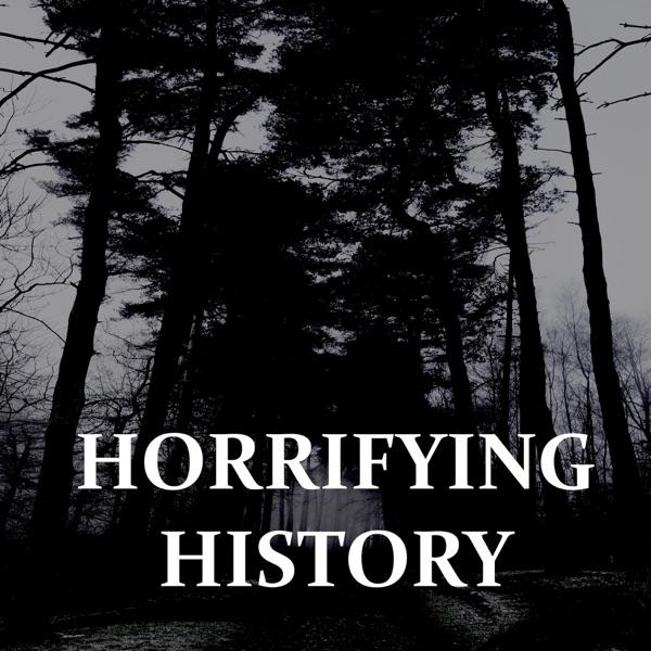 Horrifying History podcast logo