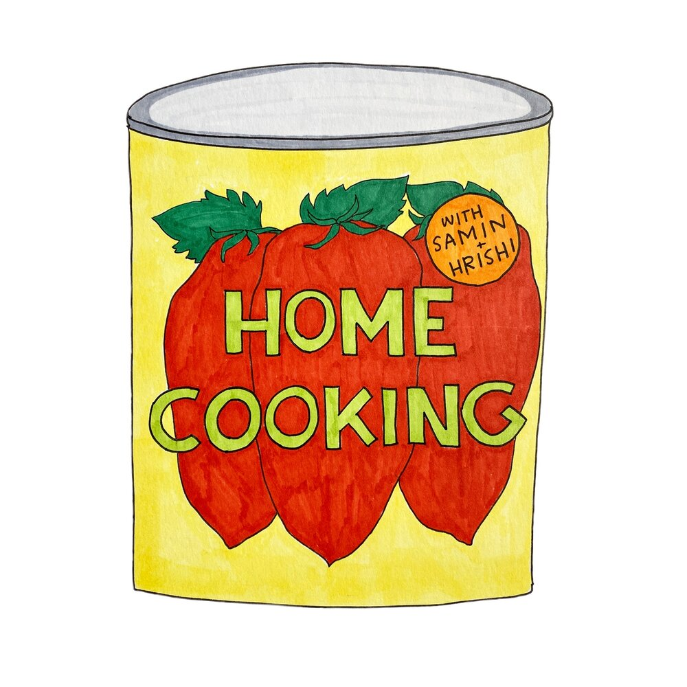 Home Cooking podcast logo