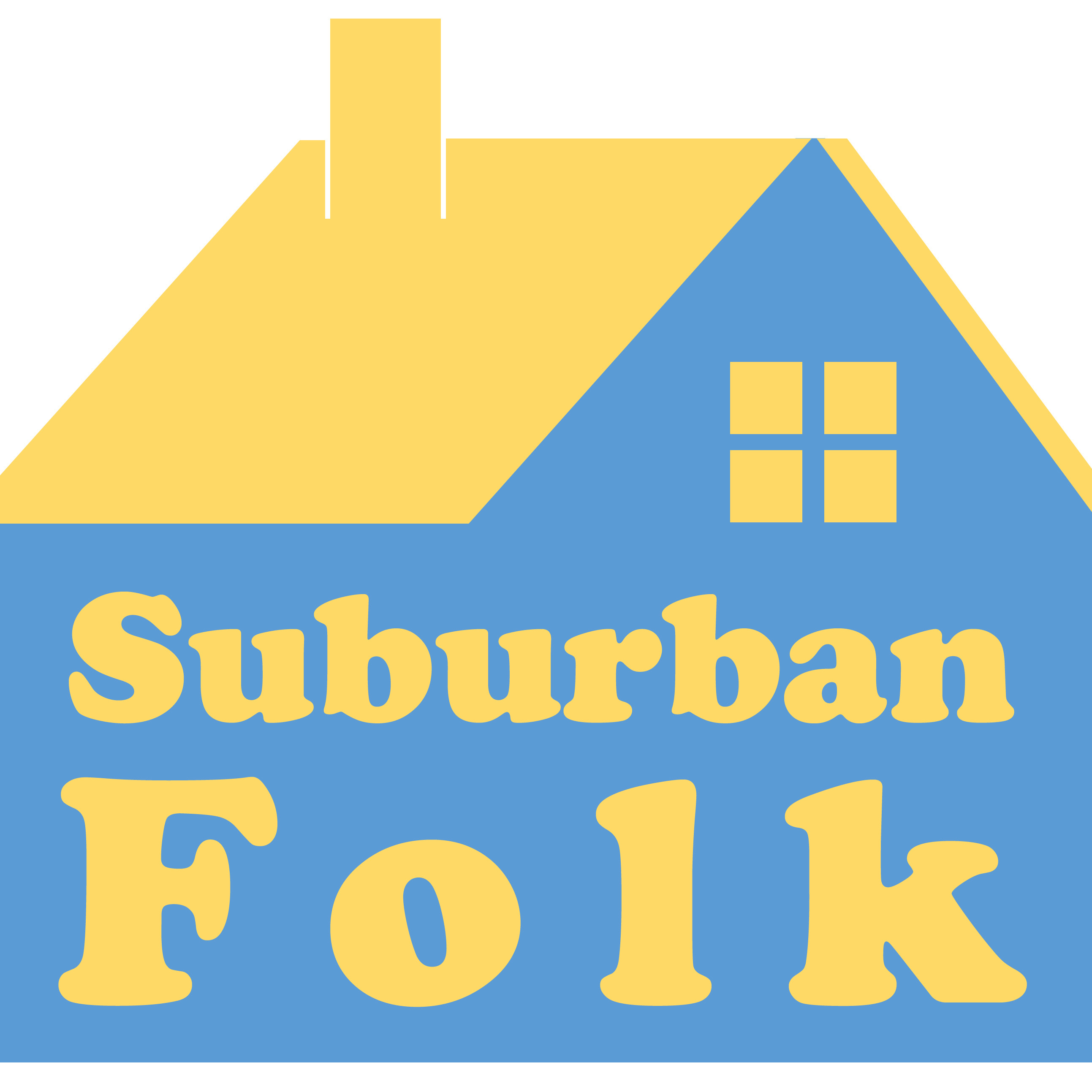 Suburban Folk podcast logo