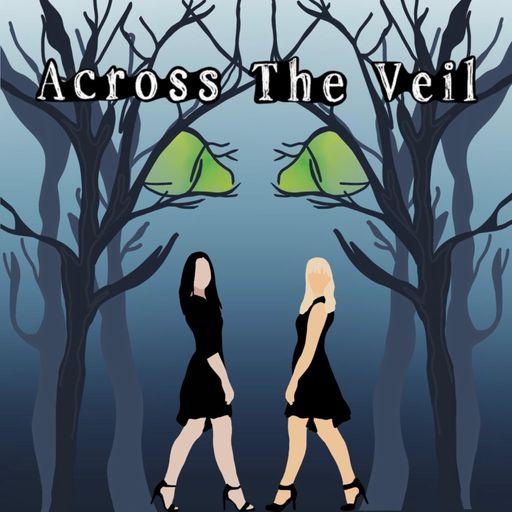 Across the Veil podcast logo