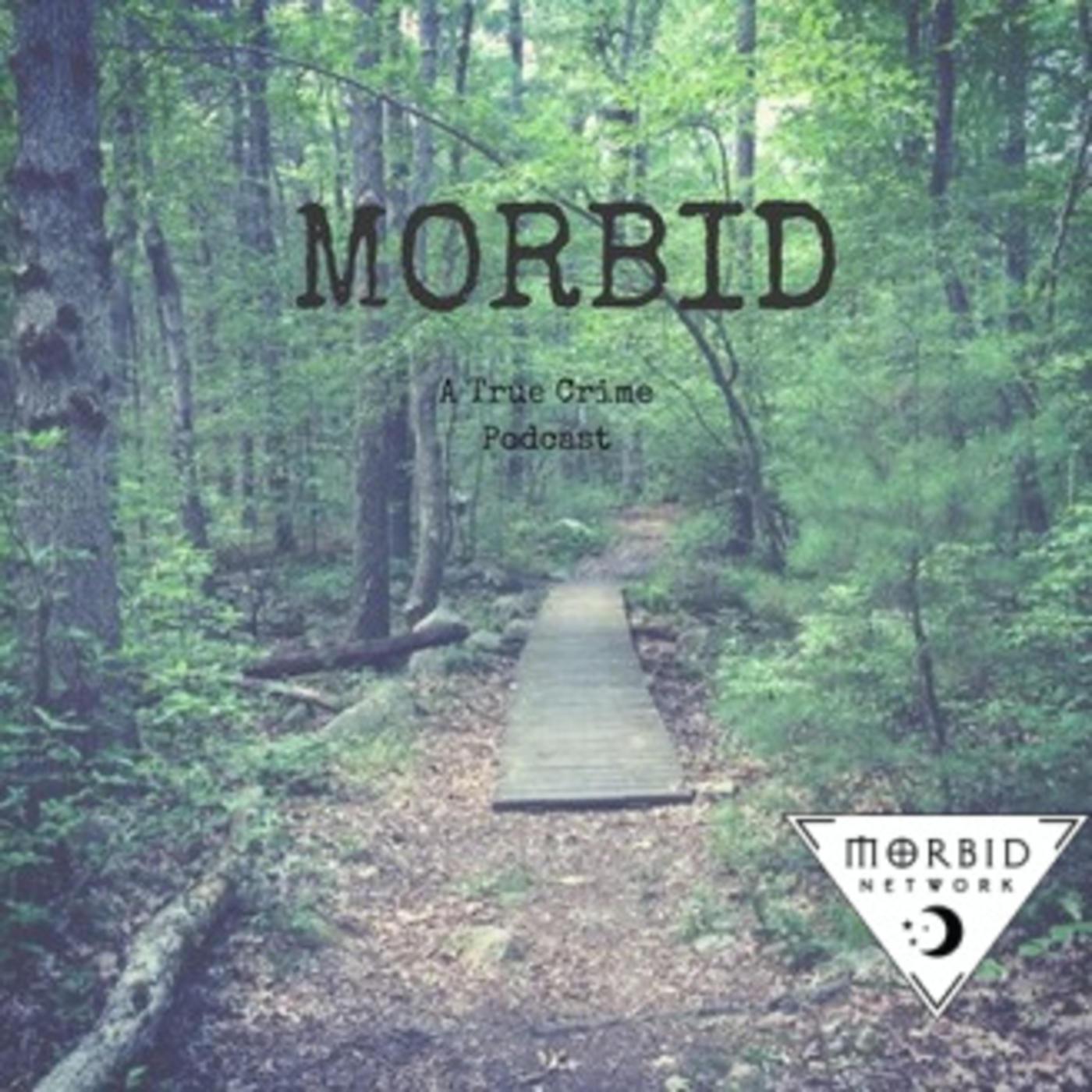 Morbid True Crime podcast cover